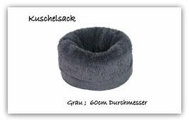 """Kuschelsack """" super  flauschig """" grau """""""