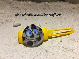 """Balken HundehaarSpange  """" Fußball 5 """""""
