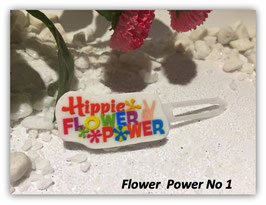 "HundehaarSpange  "" Flower Power Nr. 1 """