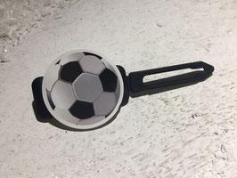 "MotivHundehaarSpange   "" Fußball  """