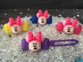 """HundeHaarSpange  """" Mini Mouse Nr. 4 """""""