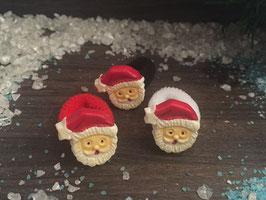 Zopfgummi: Weihnachtsmannkopf