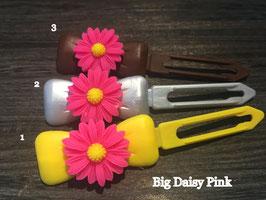 "Hundehaarspange  Blume "" Big Daisy Pink Nr. 4 """