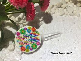 "HundehaarSpange  "" Flower Power Nr. 2 """