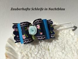 "Schleife "" Zauberhafte Schleife in Nachtblau   """