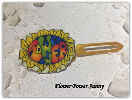 "HundehaarSpange  "" Flower Power Nr. 4 """