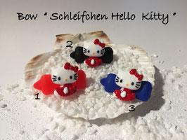 """HundeHaarSpange  Hello Kitty """" Schleifchen Hello Kitty  rot  mehrfarbig """""""