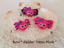 """Halloween Spinnen/Spider """" Spinnengesicht Neon  Pink """""""