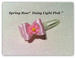 """Ausstellungs- / Stoffschleife    """" Spring Bow  Light Pink Daisy """""""
