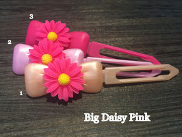 "Hundehaarspange  Blume "" Big Daisy Pink Nr.2 """