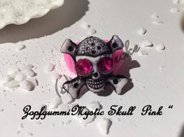 "Zopfgummi "" Mystic Skull in Pink """