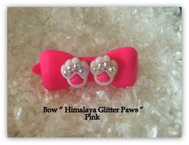 "HundeHaarSpange  "" Himalaya Glitter Paws Pink  AB """