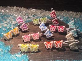 SchmetterlingWelpen HundehaarSpange  Nr. 1