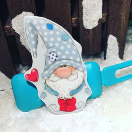 "HundehaarSpange "" Wichtel FROZEN  OLAF  """