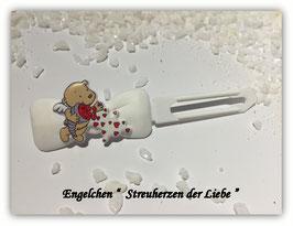 """HundeHaarSpange """" Engelchen , Streuherzen  der  Liebe  """""""