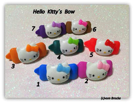 "HundeHaarSpange  Hello Kitty "" Hello Kitty´s Bow """