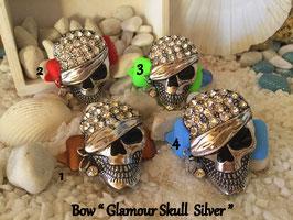 """SKULL Highlight  """" Glamour Skull Silver  klein """""""