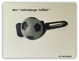 """Balken HundehaarSpange  """" Fußball  4 """""""