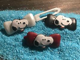 """HundehaarSpange  """" Snoopy Kopf  Nr 1 """""""