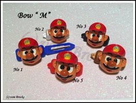 "HundehaarSpange "" Bow Mario """
