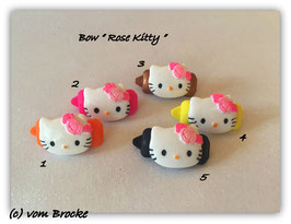"HundeHaarSpange  Hello Kitty "" Rose Kitty  """