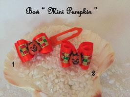 """HundeHaarSpange  """" Mini Pumpkin """""""
