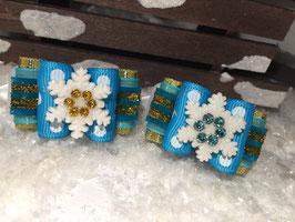SchneeflockenSchleife FROZEN  OLAF  SET Nr 3