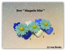 "Hundehaarspange  ""  Margarite Mint  """