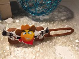 Cowboys / Westernfreunde Hundehaarspange: Nr. 2