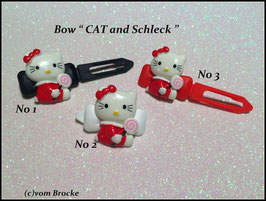 "HundeHaarSpange  Hello Kitty "" Cat and Schleck  """