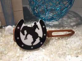 Cowboys / Westernfreunde Hundehaarspange: Nr. 8