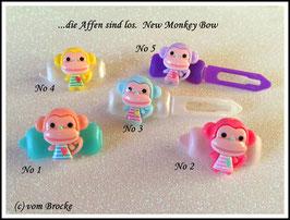 """HundeHaarSpange  Affe """" New  Monkey """""""