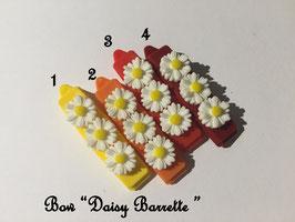 HundeHaarSpange Blume 3 bunt Töne  Nr. 16 French Daisy(3) Barrette