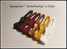 Spangen Set / Farbwechsler Set 3,5cm Herbstfeeling 3,5cm