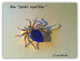 Spider  Highlight  in royal blue