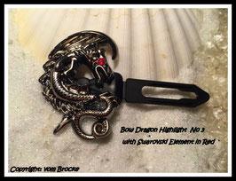 Dragon kopfsenkend Silber