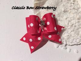"Schleife "" Classic Bow Strawberry  """