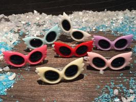 """SommerWelpen HundehaarSpange Sonnenbrille 2,7cm  """" Nr. 4 """""""
