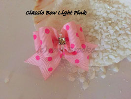"Schleife "" Classic Bow Light Pink  """