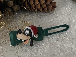 """Klassische WeihnachtshundehaarSpangen  """"  Weihnachtswuff  4 mit SWK Stern an der Bommel  """""""