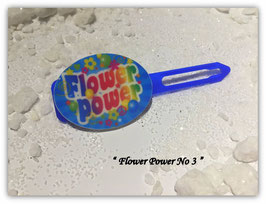"HundehaarSpange  "" Flower Power Nr. 3 """