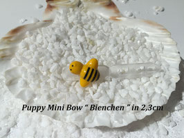 "HundeHaarSpange Mini Puppy Bow   "" Bienchen """