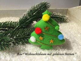 "HundeHaarSpange "" Christmas Tree with Stars """