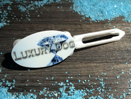 "Hundehaarspange  "" LUXUSHUND  Luxury Dog Diamond ""Nr 4"