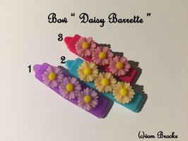 HundeHaarSpange Blume 3erlei  Nr. 13 French Daisy(3) Barrette