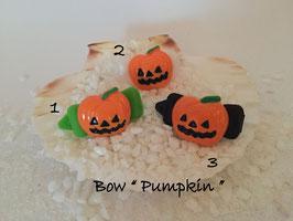 "Bunte Halloween HundehaarSpangen "" Nr  11 Pumpkin """