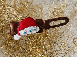 """Klassische WeihnachtshundehaarSpangen  """"  Weihnachtsmützchen mit SWK """""""