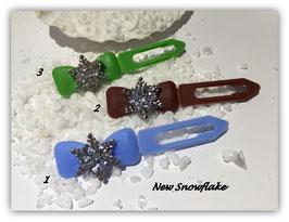 "HundeHaarSpange Schneeflocke "" Frozen Crystal """