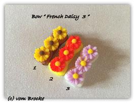 HundeHaarSpange Blume rosa  Nr. 9 French Daisy(3)