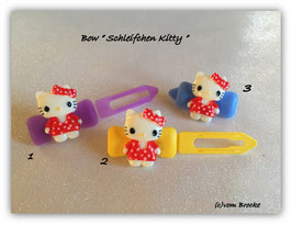 "HundeHaarSpange  Hello Kitty "" Schleifchen Kitty rot   """